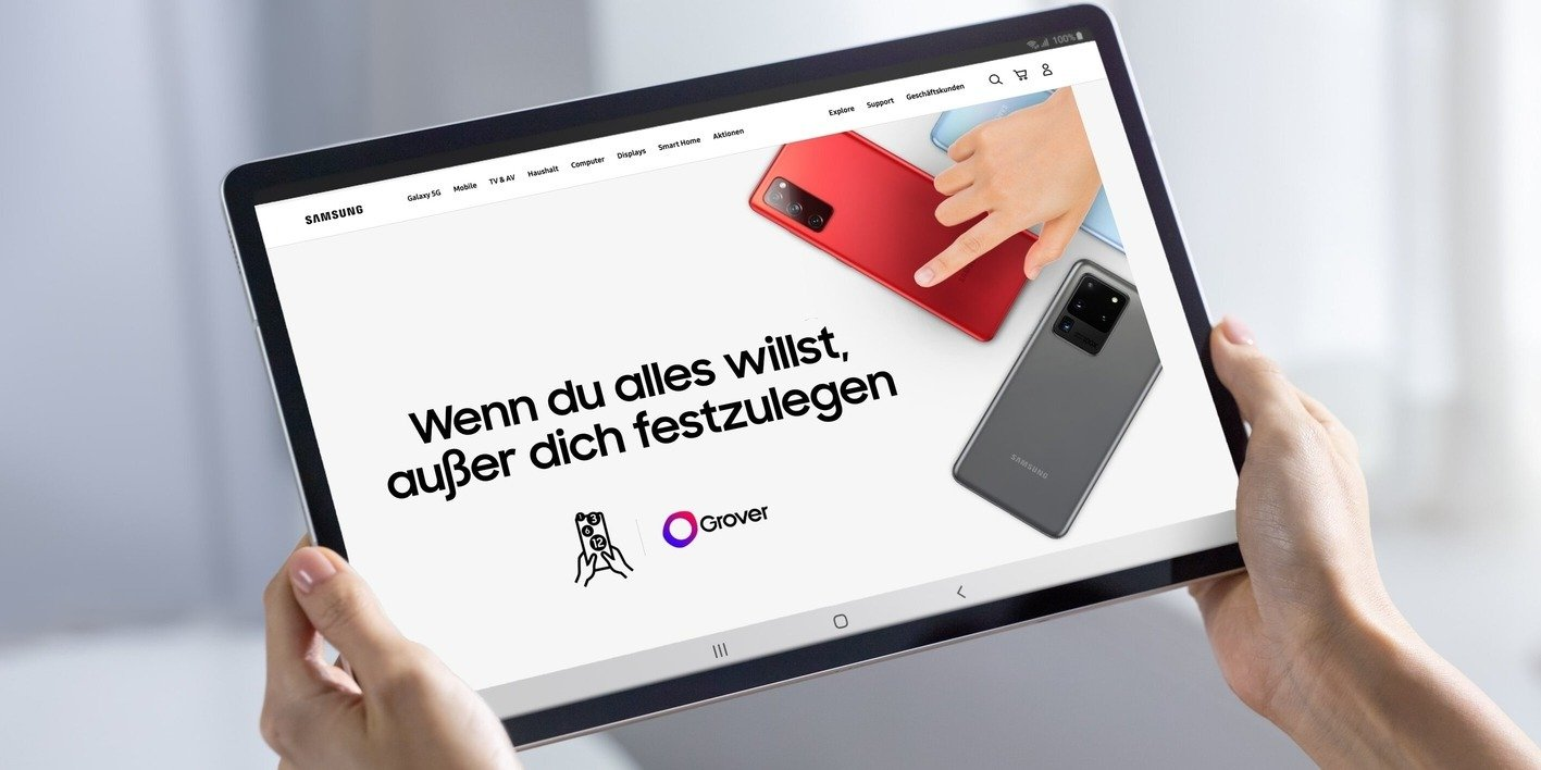 Samsung Germany launches subscription service with Grover