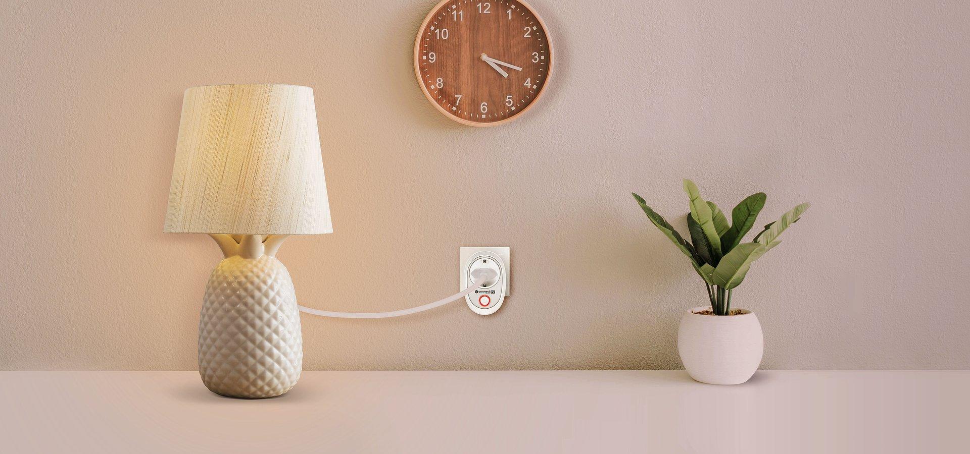 Connect P2 - niedrogie inteligentne gniazdo Wi-Fi od Kruger&Matz
