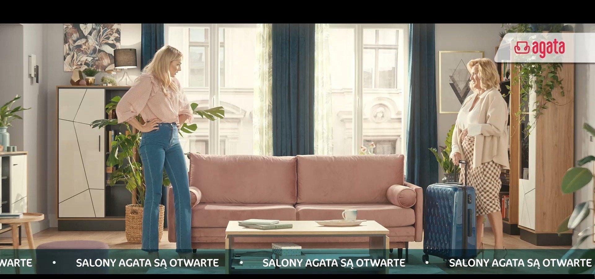 Salony Agata ponownie otwarte. Marka prezentuje nowy spot reklamowy oraz akcję rabatową dla Klientów