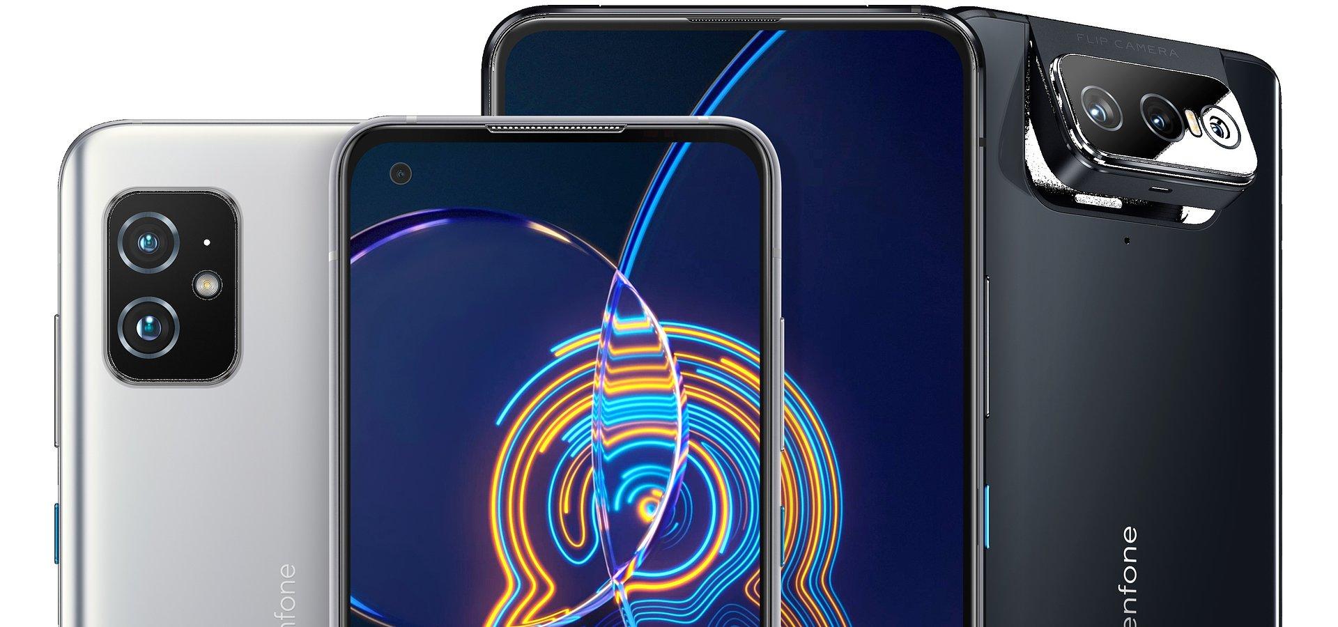 ASUS prezentuje najnowszą serię telefonów Zenfone 8