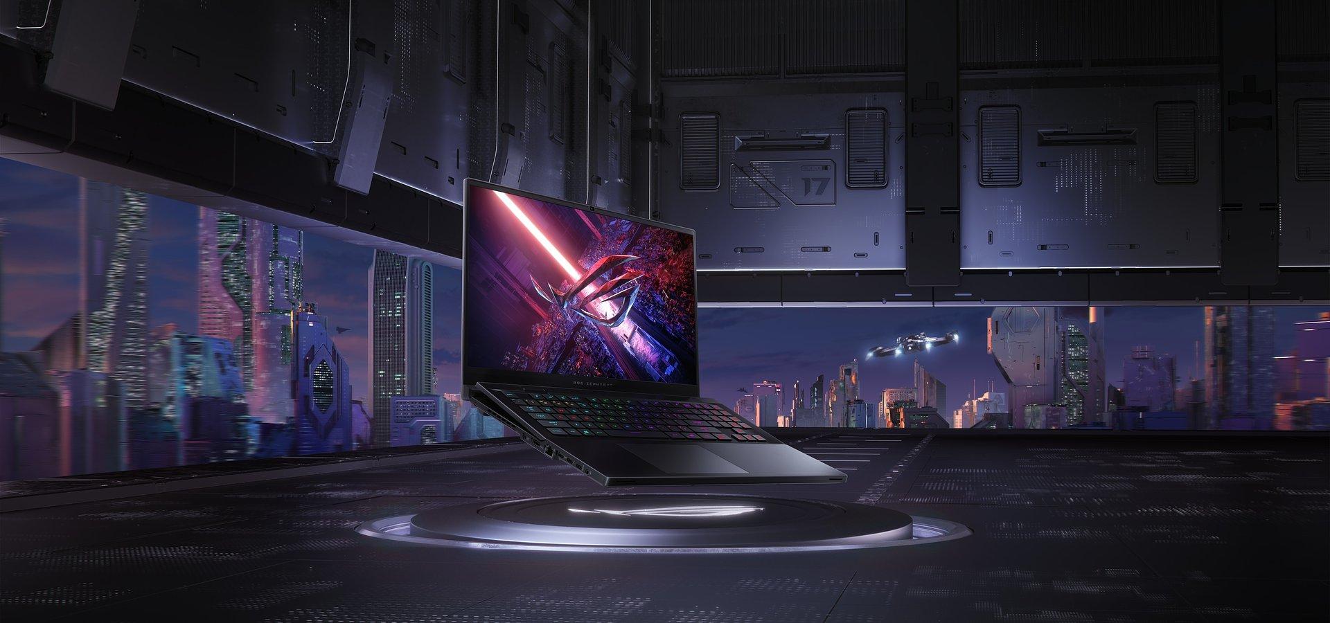 ROG prezentuje laptopa gamingowego Zephyrus S17 klasy premium z klawiaturą z mechanizmem unoszenia