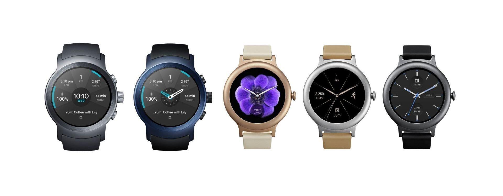 LG I Google łączą siły- pierwsze zegarki z systemem Android Wear 2.0