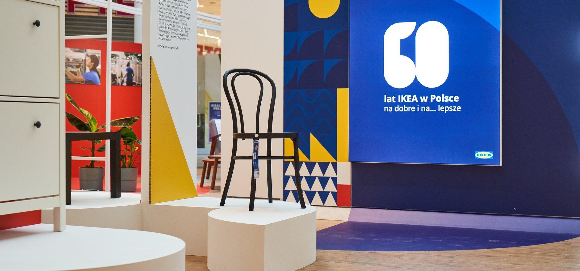 IKEA zaprasza na wystawę z okazji 60 lat współpracy z Polską