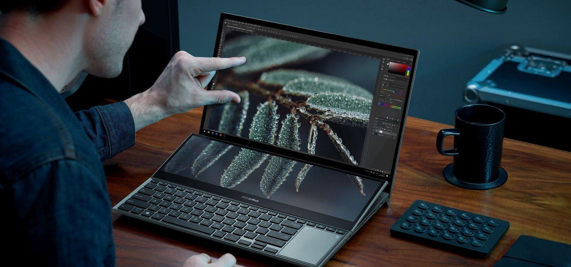 ASUS prezentuje najnowszego laptopa ZenBook Pro Duo 15 OLED