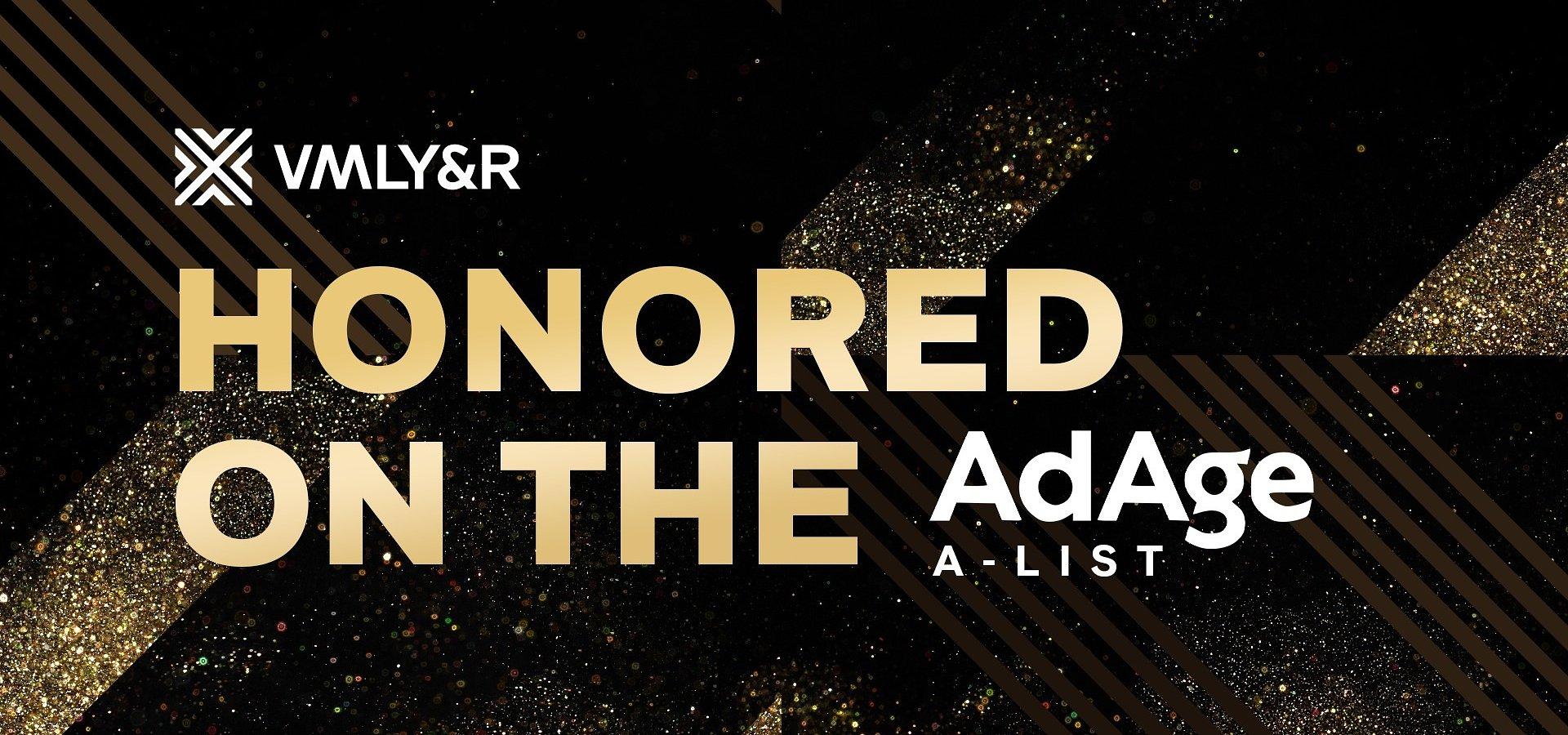 """VMLY&R wśród najlepszych agencji reklamowych świata według """"Ad Age"""" 2021 Agency A-List"""