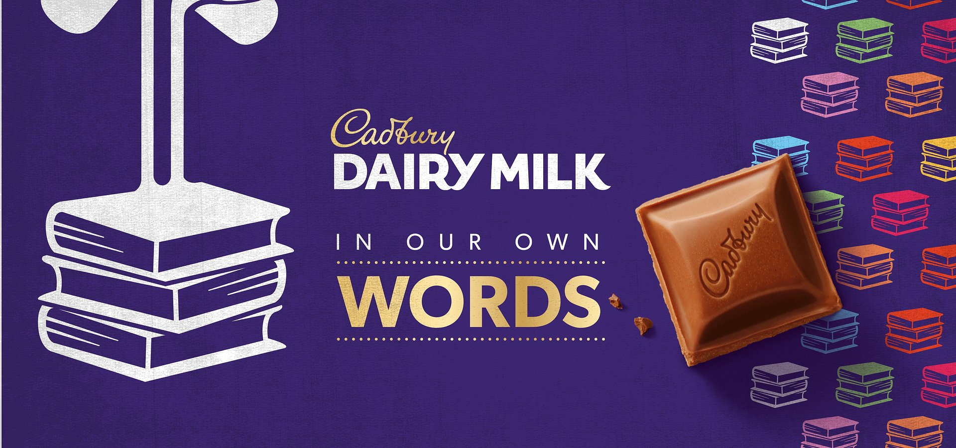 Cadbury Dairy Milk Inspires A Love Of Reading With New #InOurOwnWords Campaign