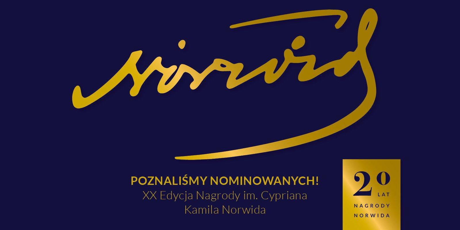 Kto zdobędzie Statuetki Norwidowskie?