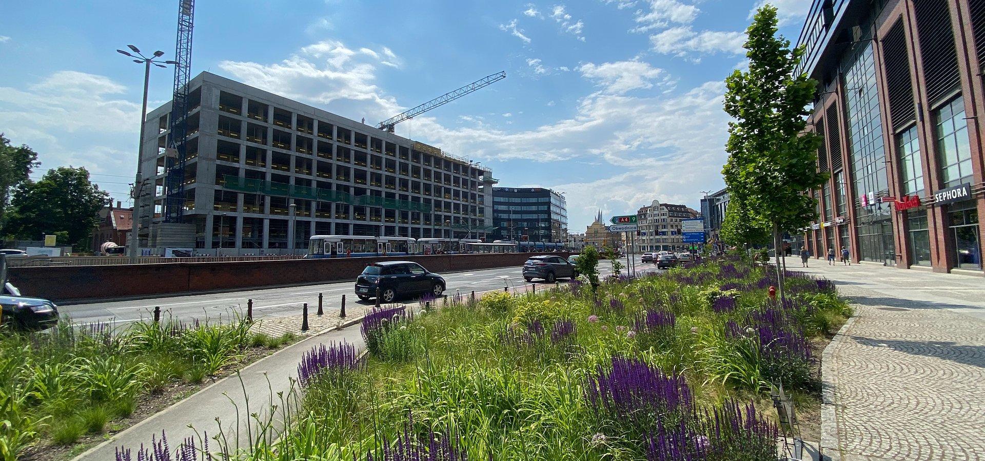Zakończył się kolejny etap budowy Bramy Oławskiej we Wrocławiu