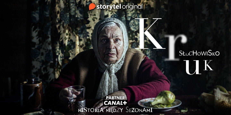 """Storytel i Canal+ łączą siły – premiera oryginalnej produkcji """"Kruk. Słuchowisko"""""""