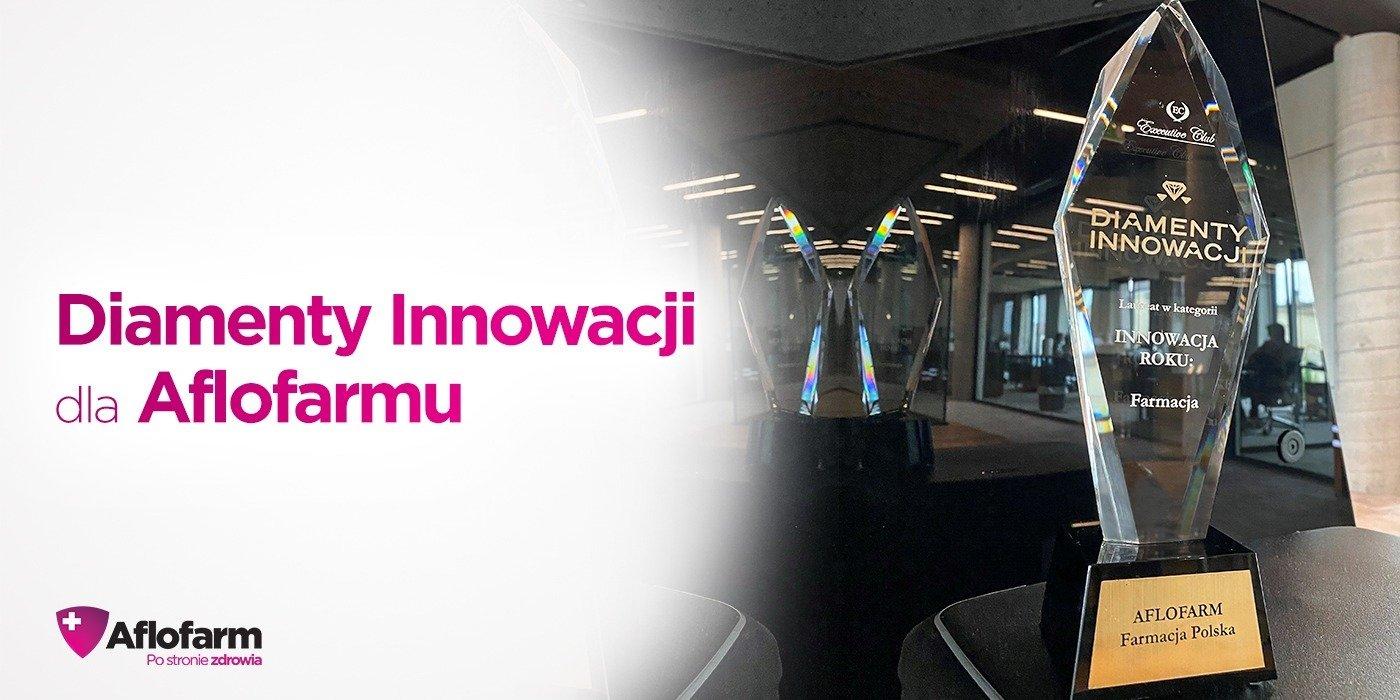 Aflofarm Farmacja Polska - Diamentem Innowacji