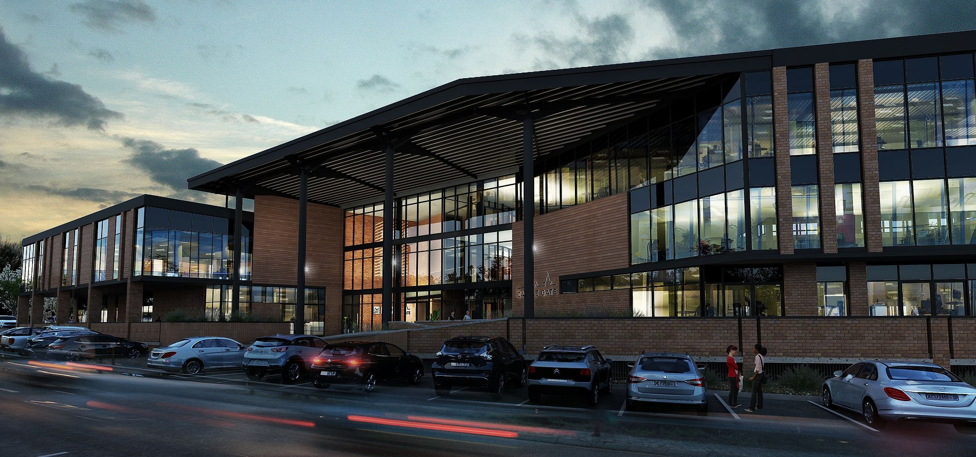 Atterbury's Castle Gate precinct development gets new offices and Planet Fitness