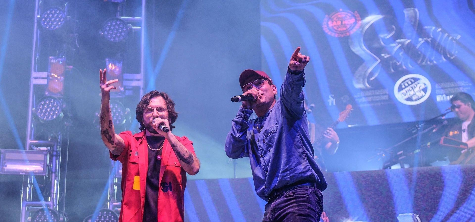 Sabino y Charles Ans preparan una ráfaga de versos y rap en la capital mexicana