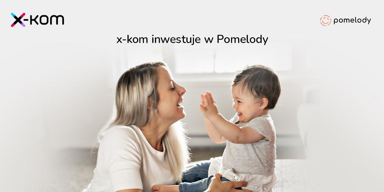 x-kom inwestuje w Pomelody