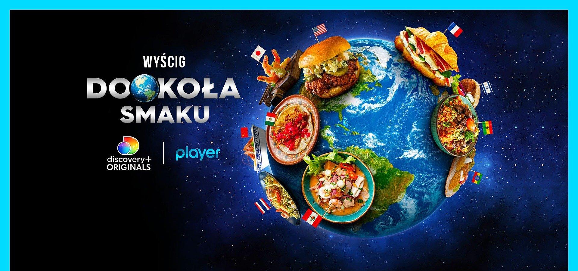 """""""Wyścig dookoła smaku"""" – nowe show kulinarne na Playerze!"""
