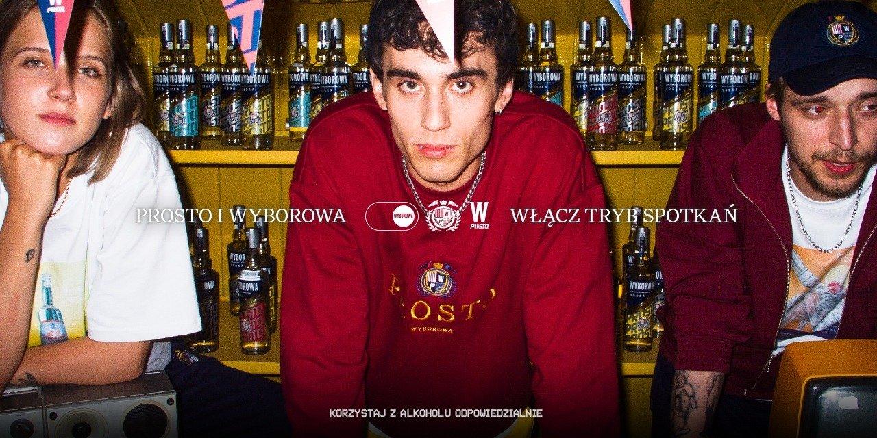 PROSTO z lat 90. - nowa kampania marki Wyborowa