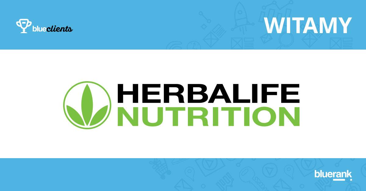 Bluerank promuje Herbalife w Internecie