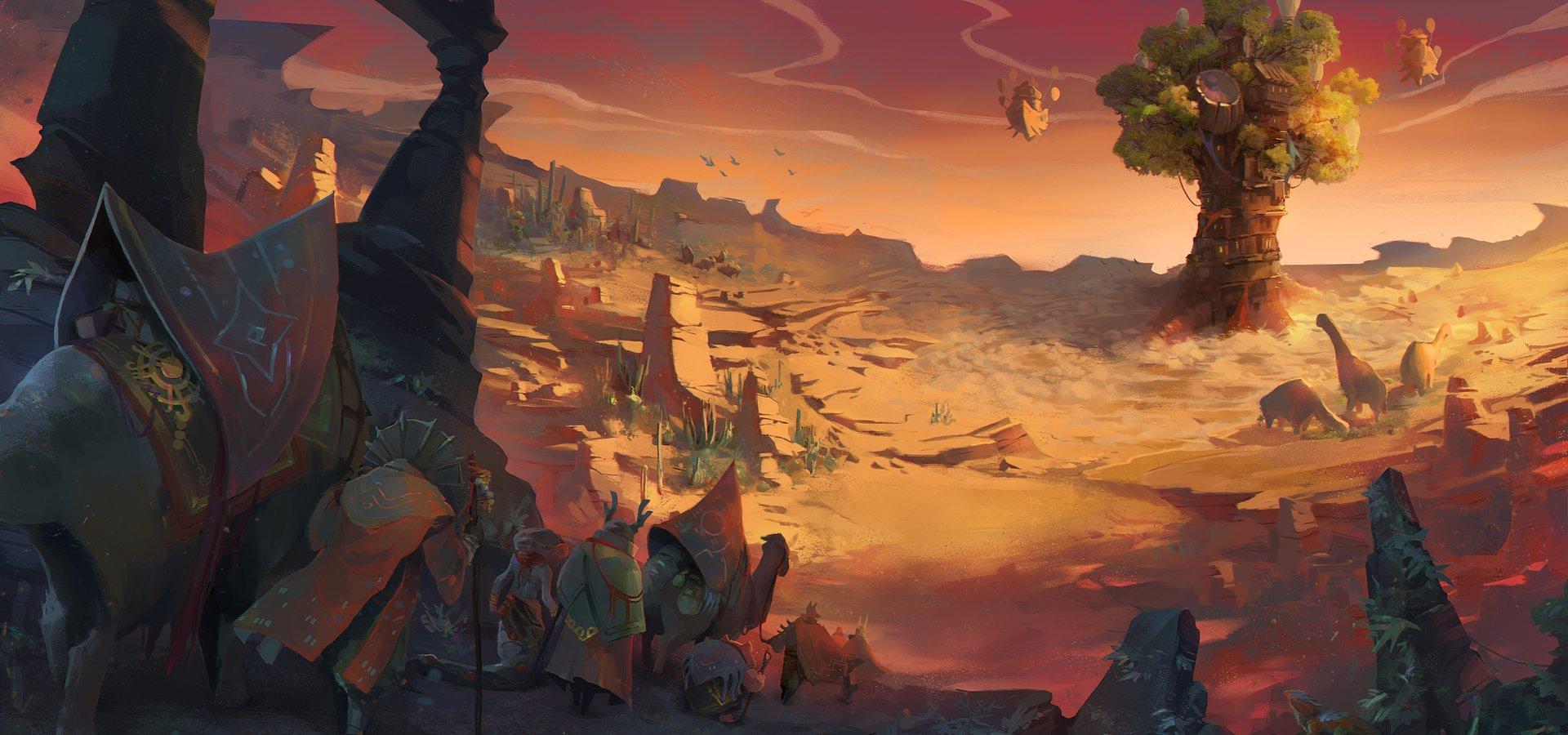 Студия Goblinz представила новые игры Sandwalkers и Oaken в рамках Gamescom Awesome Indies, а также выпустила эксклюзивные трейлеры для Diluvian Winds и Terraformers
