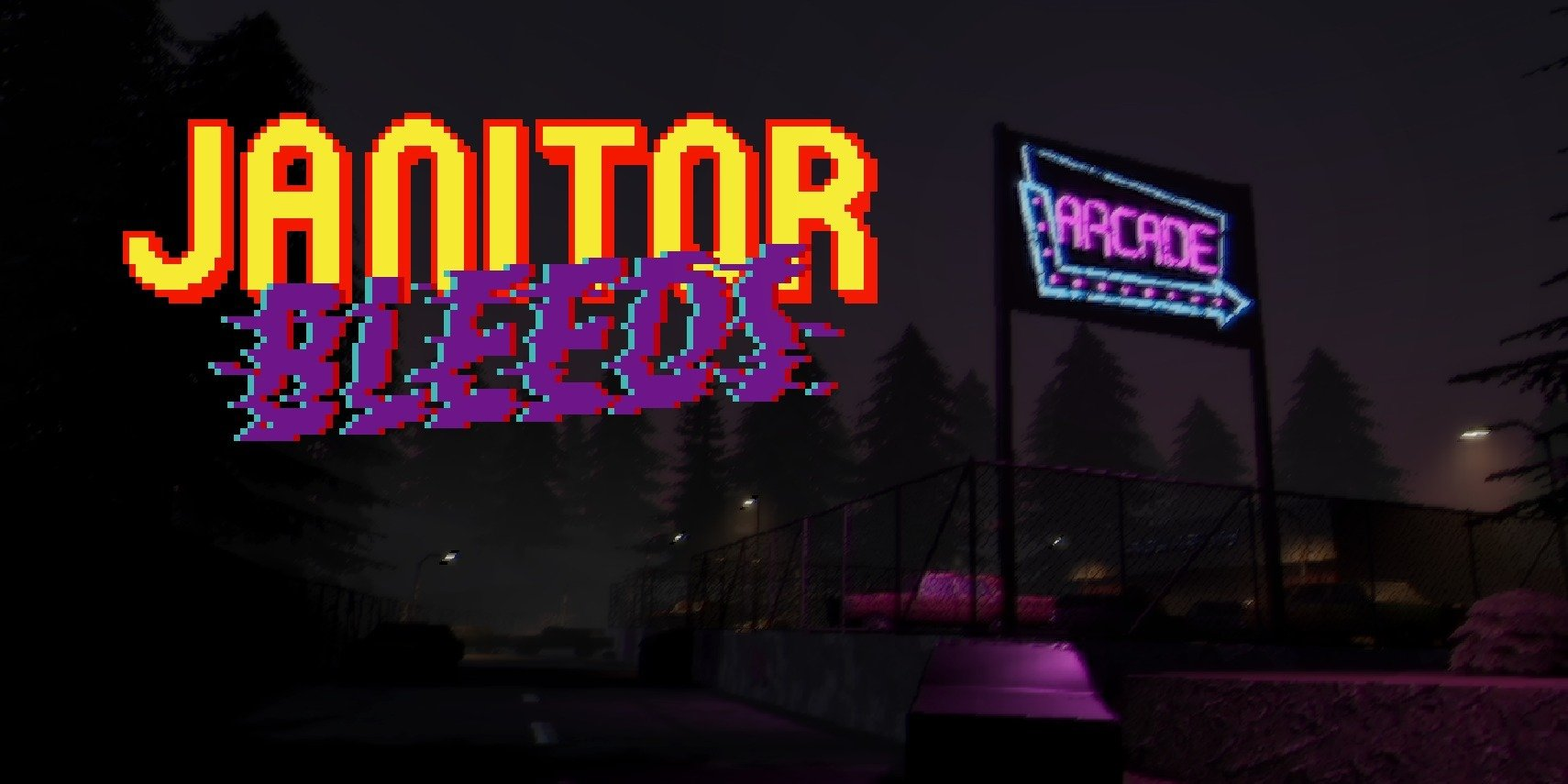 Old-school survival horror game JANITOR BLEEDS confirmed for release in 2022 on PC, Nintendo Switch, Xbox, and PlayStation
