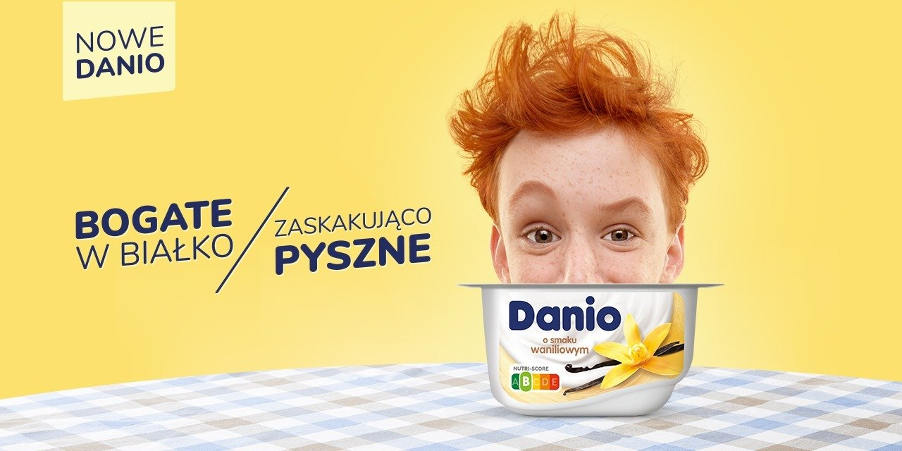 Nowe Danio zaskakuje pożywnością* i smakiem!