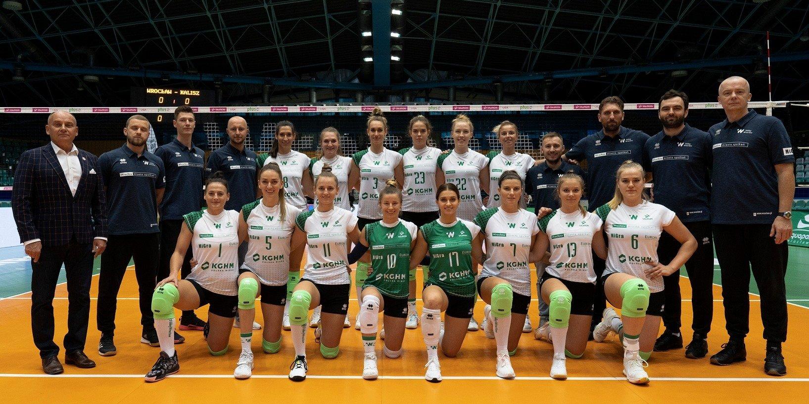 Europa kolejny sezon zagra z siatkarkami #VolleyWrocław