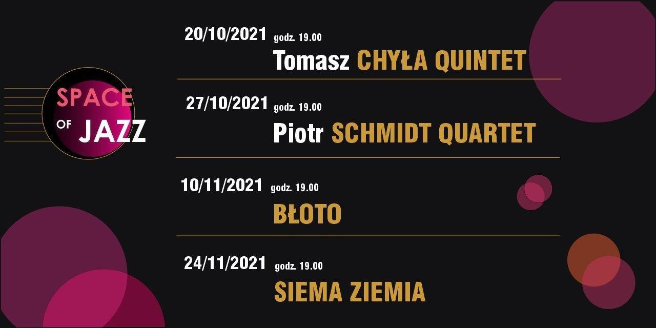Jesień ze Space of jazz: Tomasz Chyła Quintet