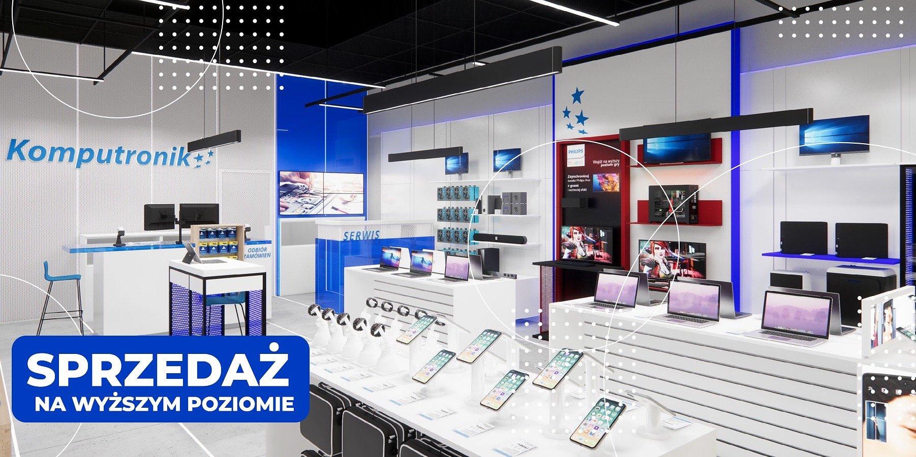 Komputronik z nowym formatem sklepów