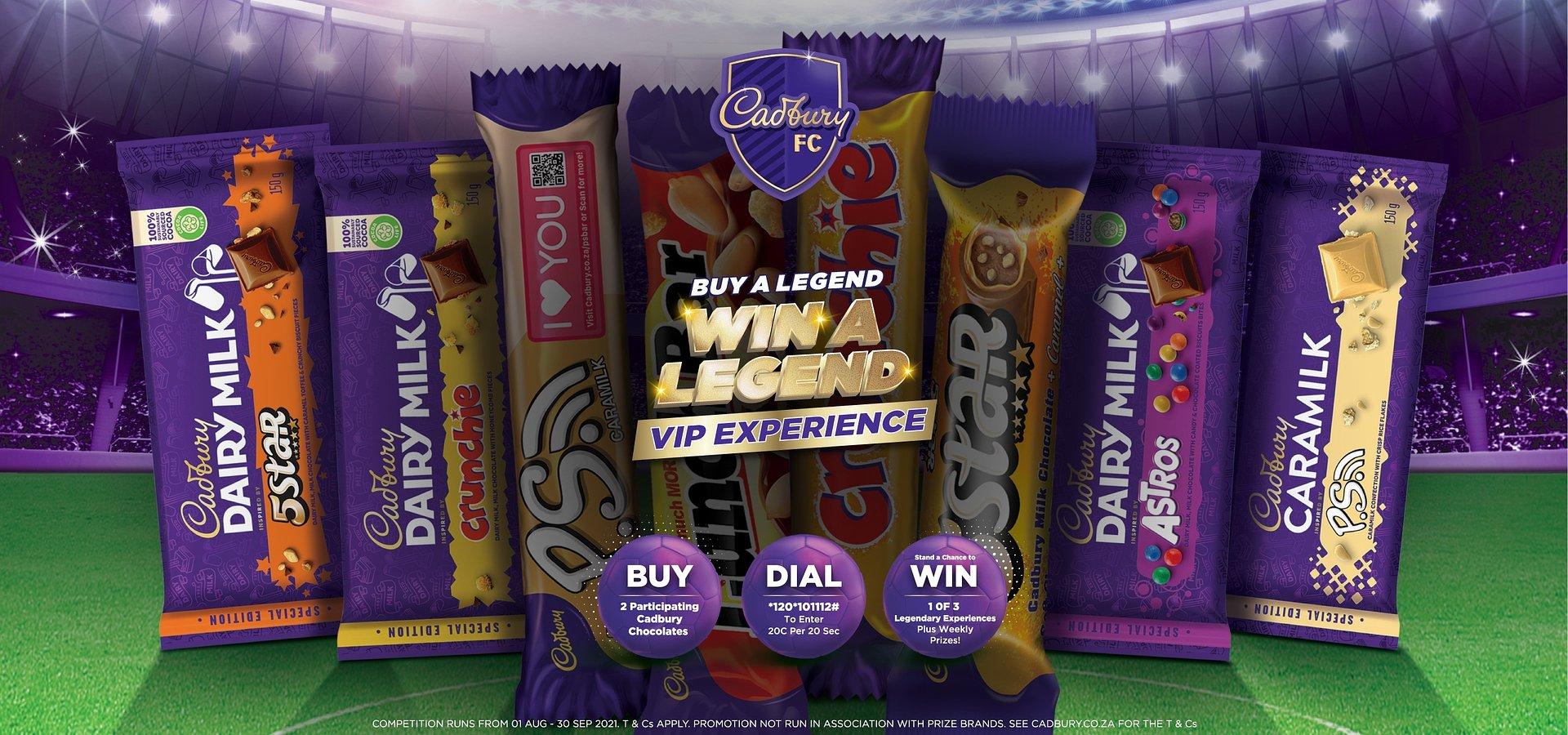 #TasteTheAction With Cadbury's Legendary VIP Experiences