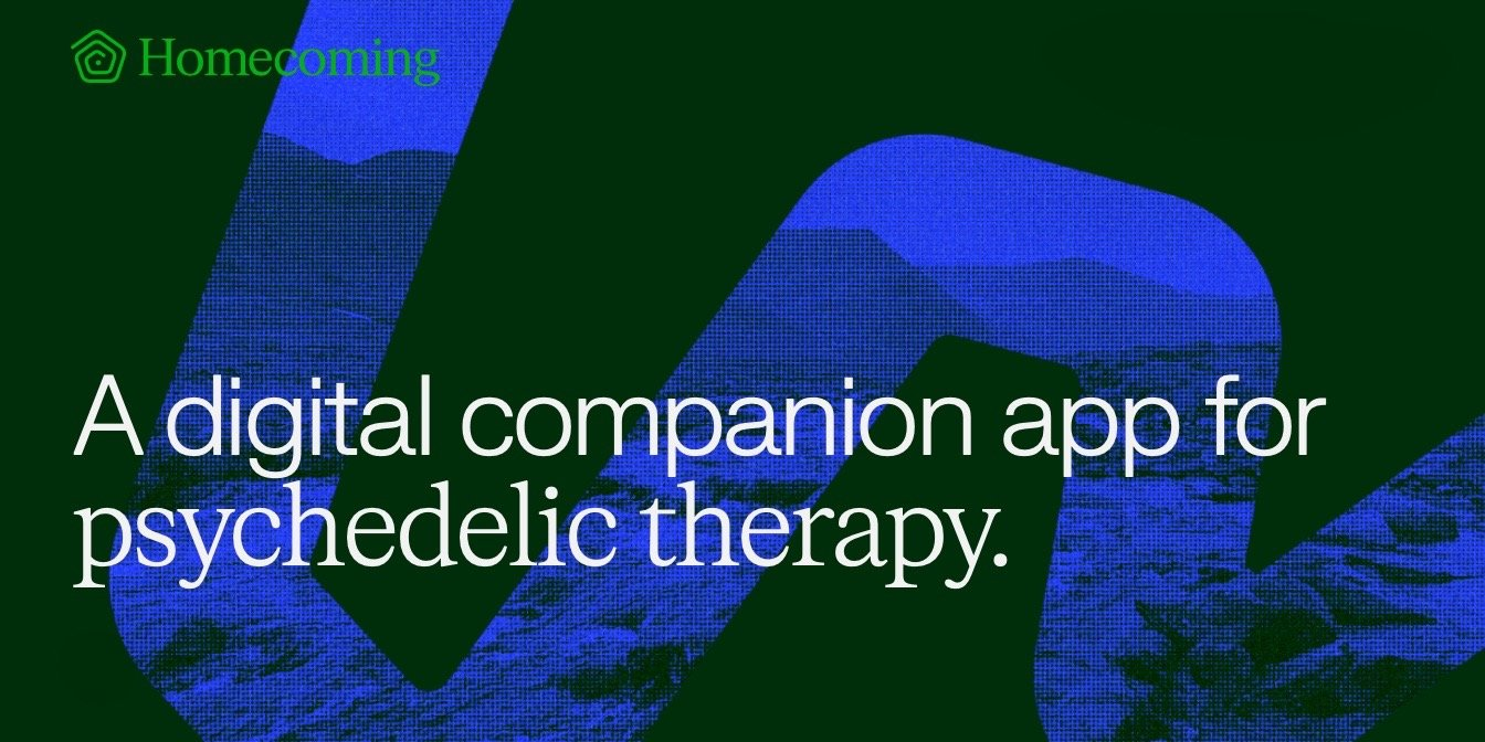 Homecoming App Helps Clinics Support, Track, And Improve Outcomes for Psychedelic Therapy