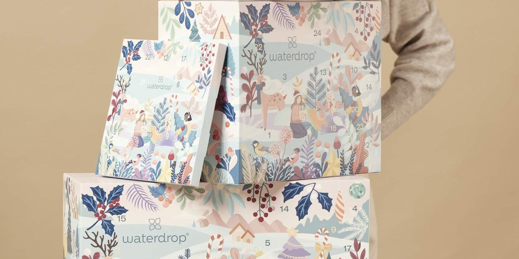Kalendarze adwentowe od Waterdrop