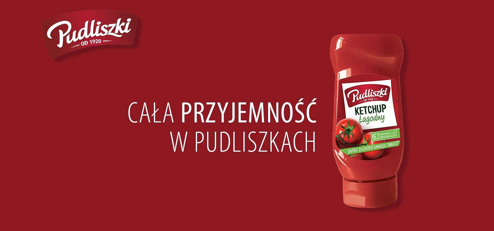 """Ketchup Pudliszki z nową kampanią """"Przyjemność""""."""