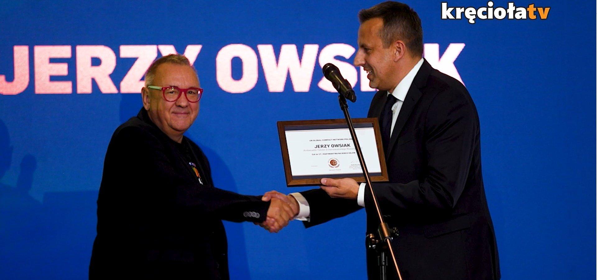 Jurek Owsiak ambasadorem ONZ