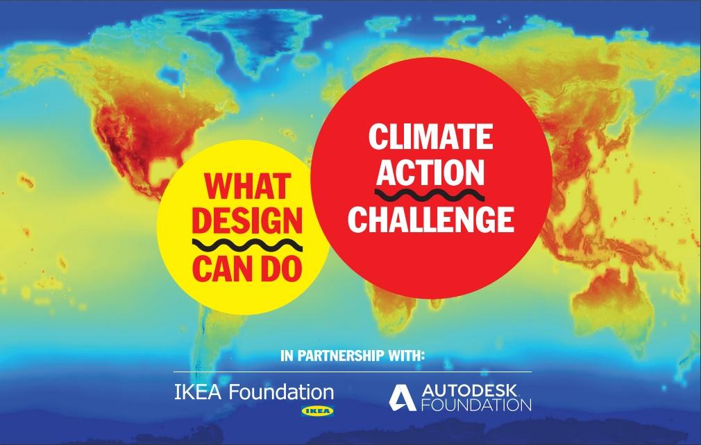 What Design Can Do? IKEA Foundation i Autodesk Foundation  w walce ze zmianami klimatu