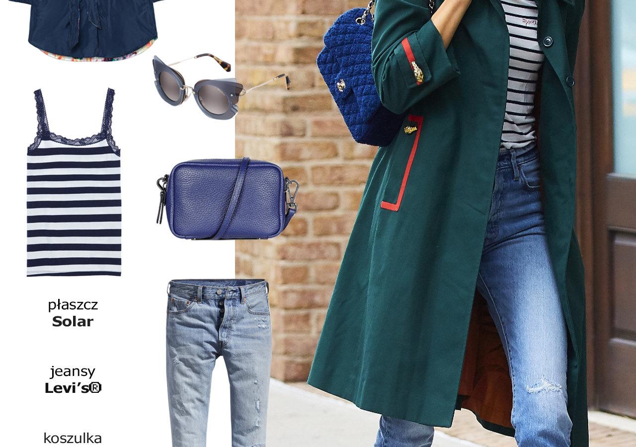 Street Style - odcienie błękitu