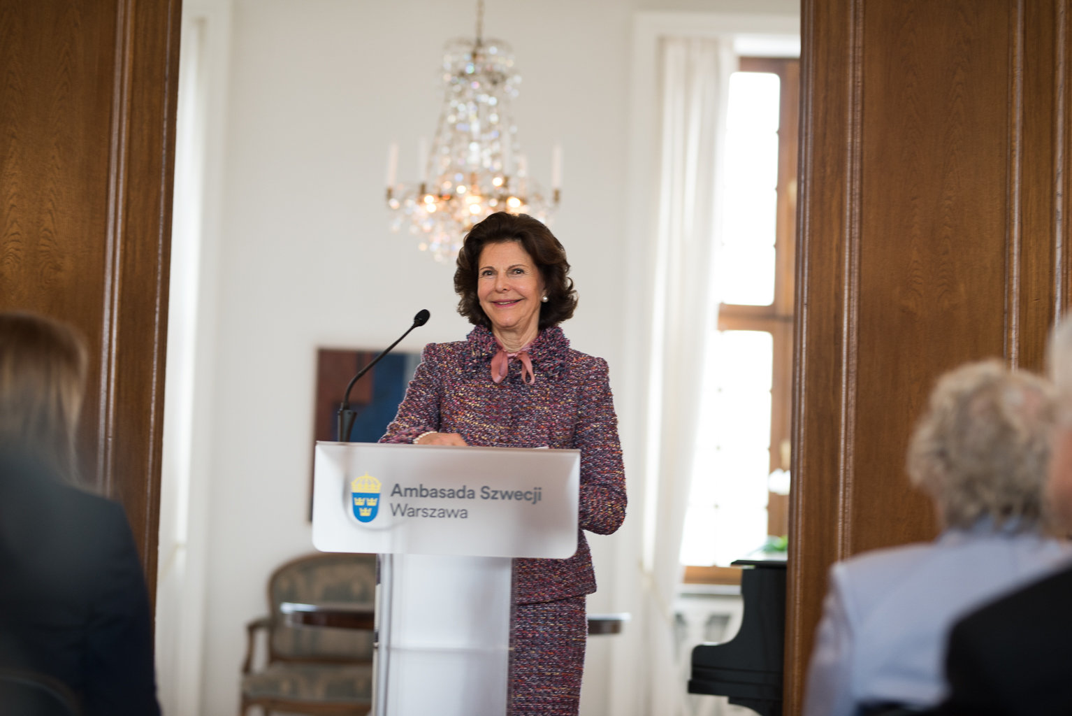 Her Majesty Queen Silvia of Sweden visits Poland