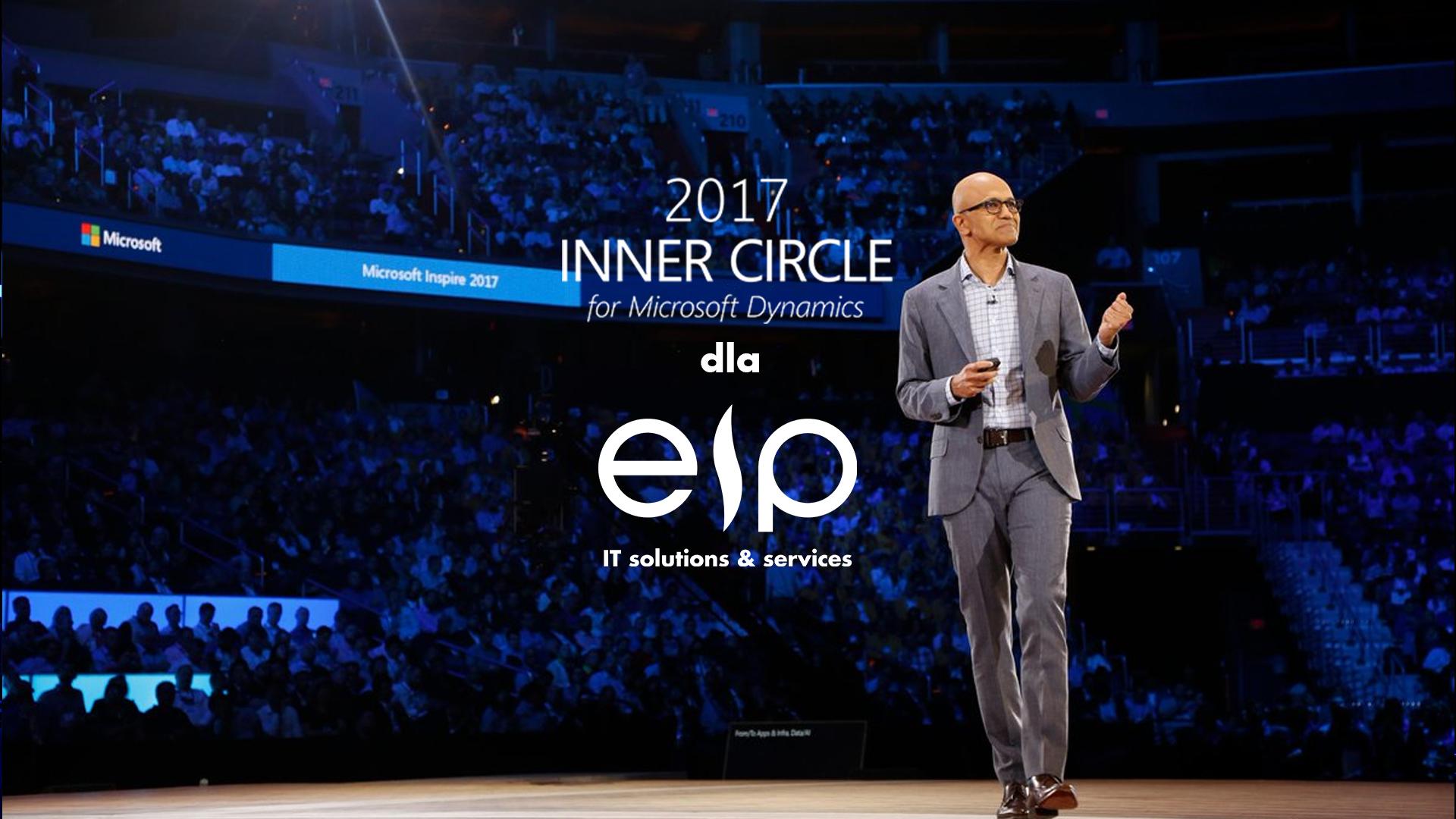 EIP w Inner Circle for Microsoft Dynamics - elitarnym gronie 40 strategicznych partnerów Microsoft z całego świata!