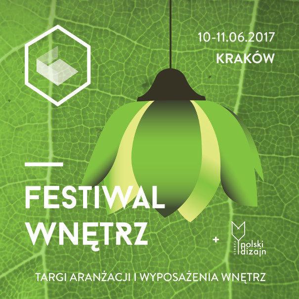 FESTIWAL WNĘTRZ w Krakowie - Homebook Patronem