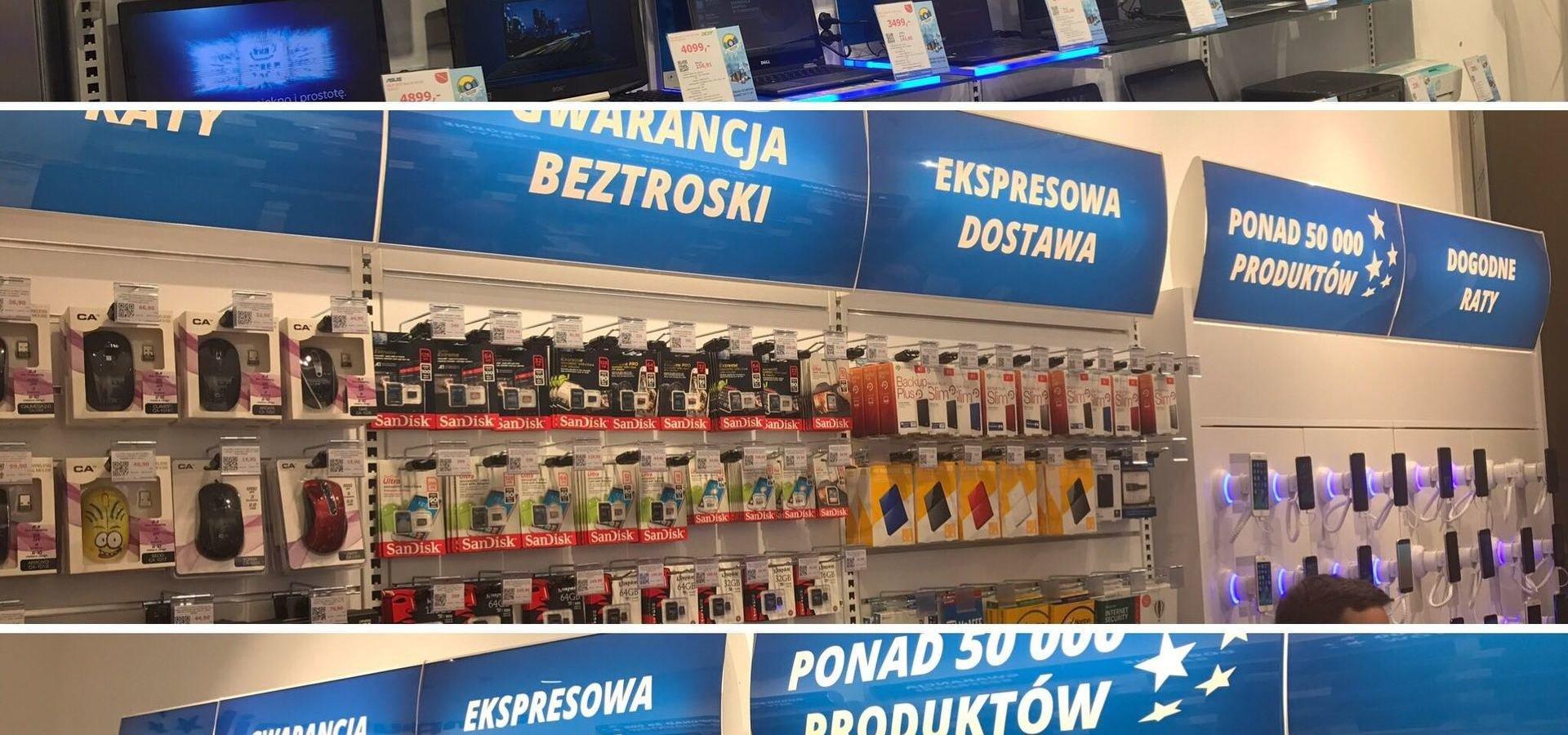 Otwarcie nowego Komputronika w Łomży