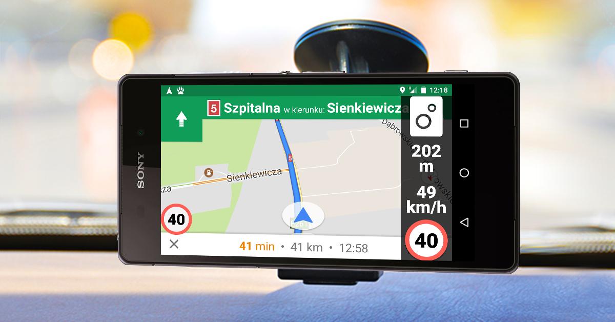 Ograniczenia prędkości i fotoradary w Google Maps? Możesz mieć je już dziś