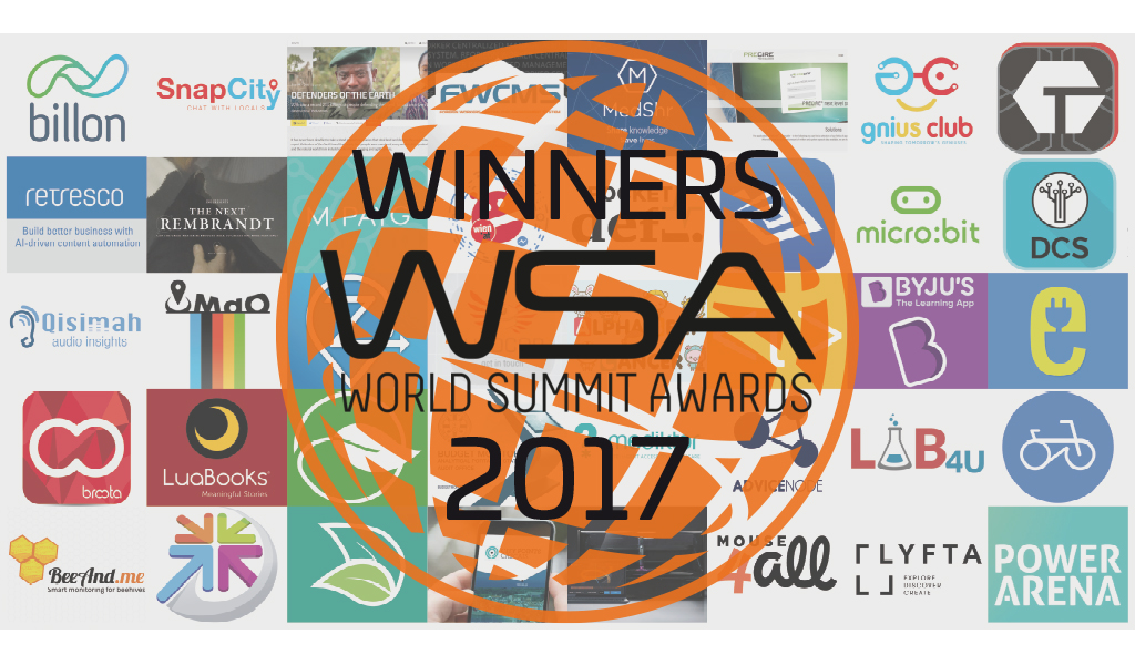 Solving today's challenges with digital innovation – Billon in the World Summit Award Global Top 40