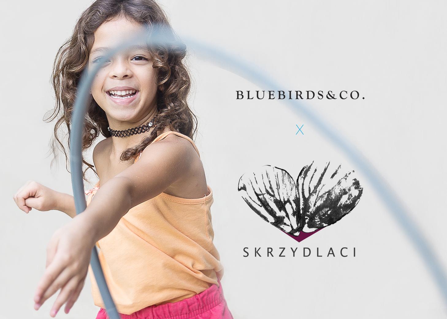 Wyjątkowa kolaboracja marki odzieżowej Bluebirds & Co. i Fundacji Skrzydlaci