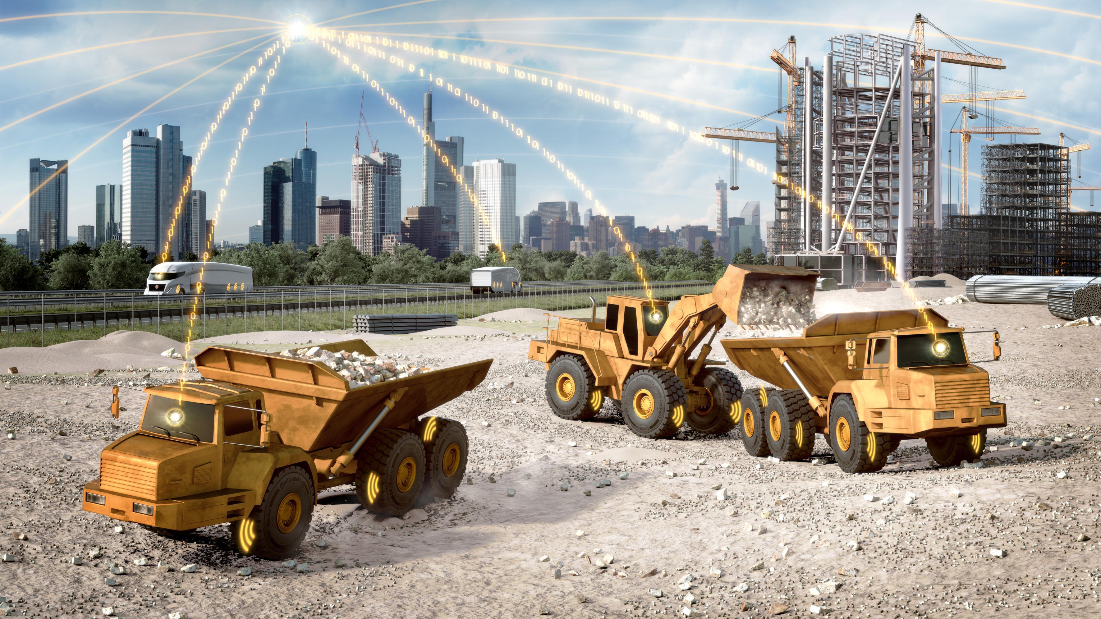 Continental wspiera przemysł budowlany