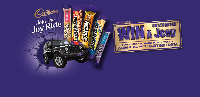 Lucky Durbanite wins the Cadbury Join the Joy Ride competition #CadburyJoyRide