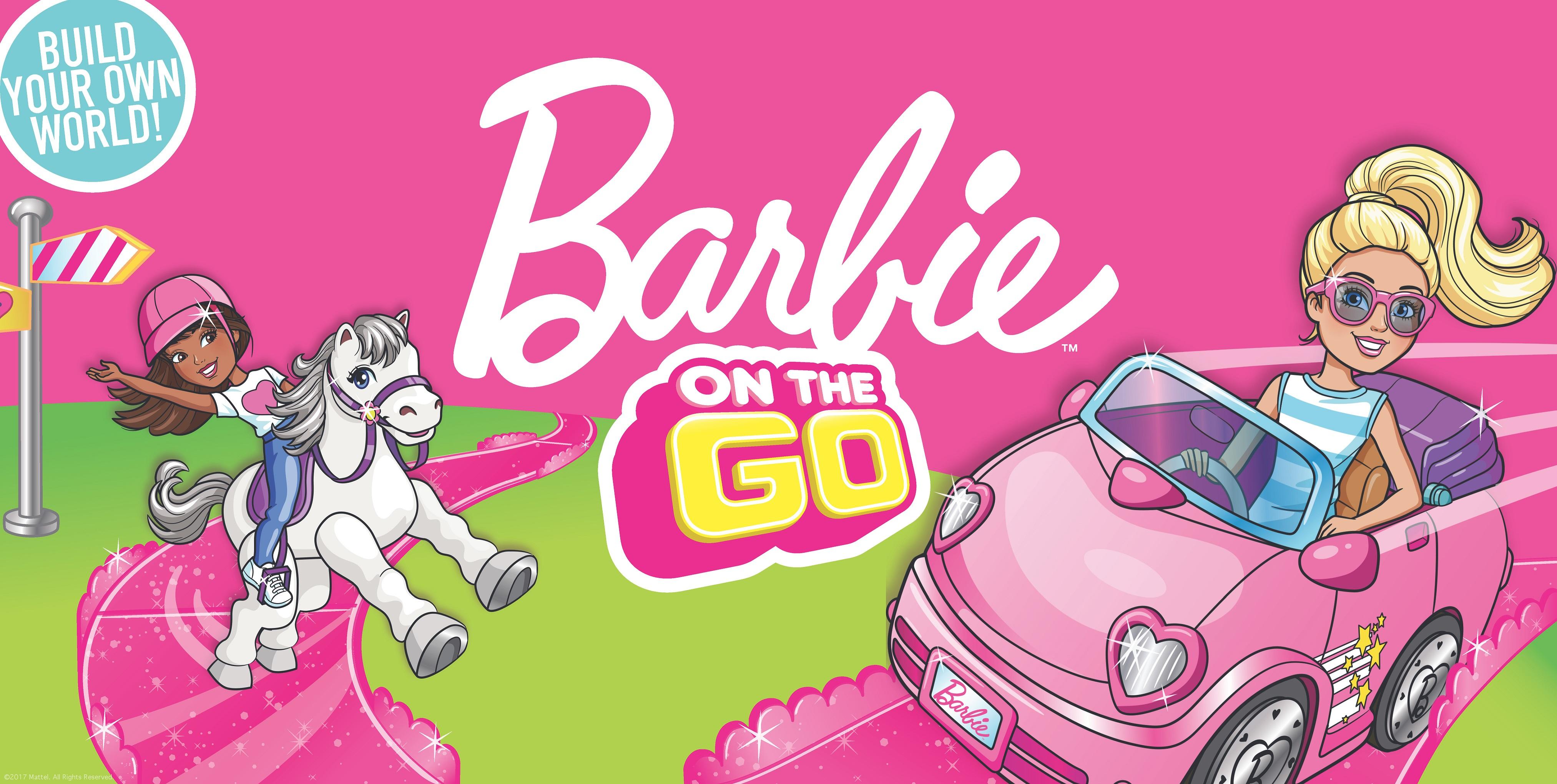Barbie On The Go – nowa linia zabawek od Mattel