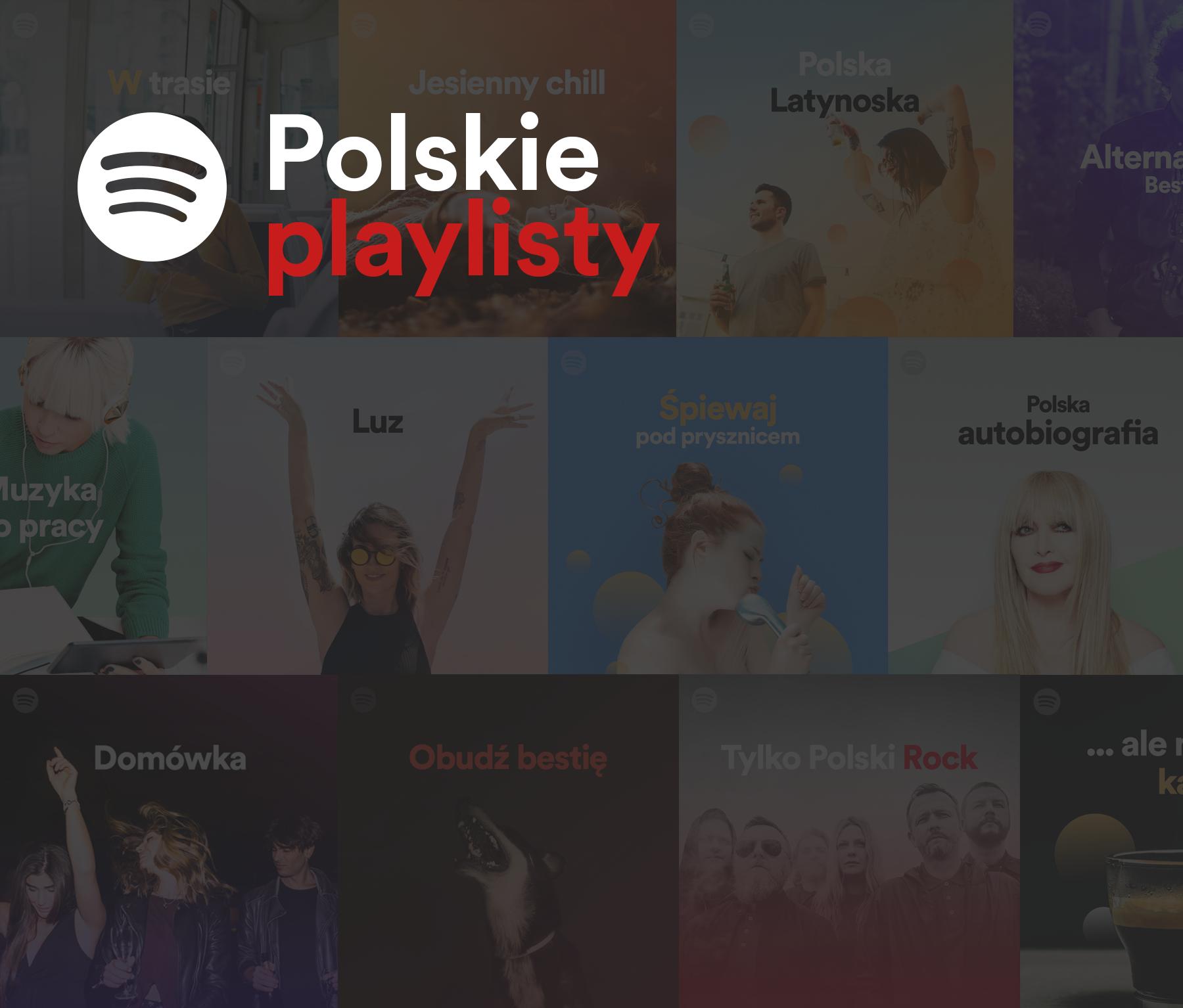 Polacy pokochali polskie playlisty Spotify