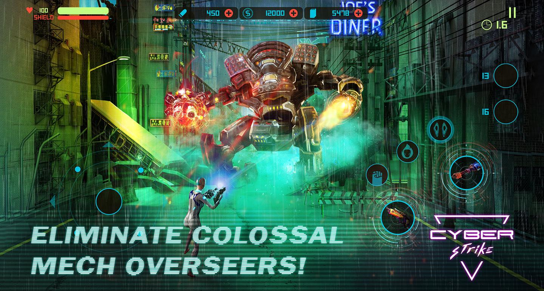 Cyber Strike – a new cyberpunk-themed run & shoot mobile game