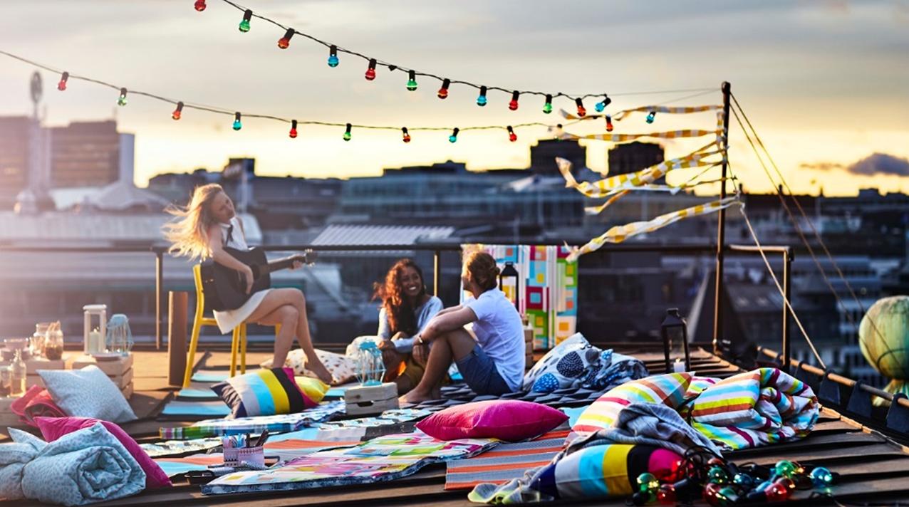 Poczuj się w domu jak na wakacjach. Letnia kolekcja IKEA SOMMAR 2018