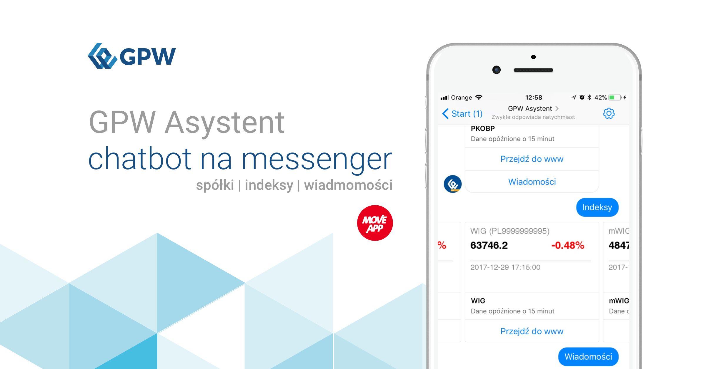 MoveApp wdraża pierwszego chatbota dla Giełdy Papierów Wartościowych w Warszawie