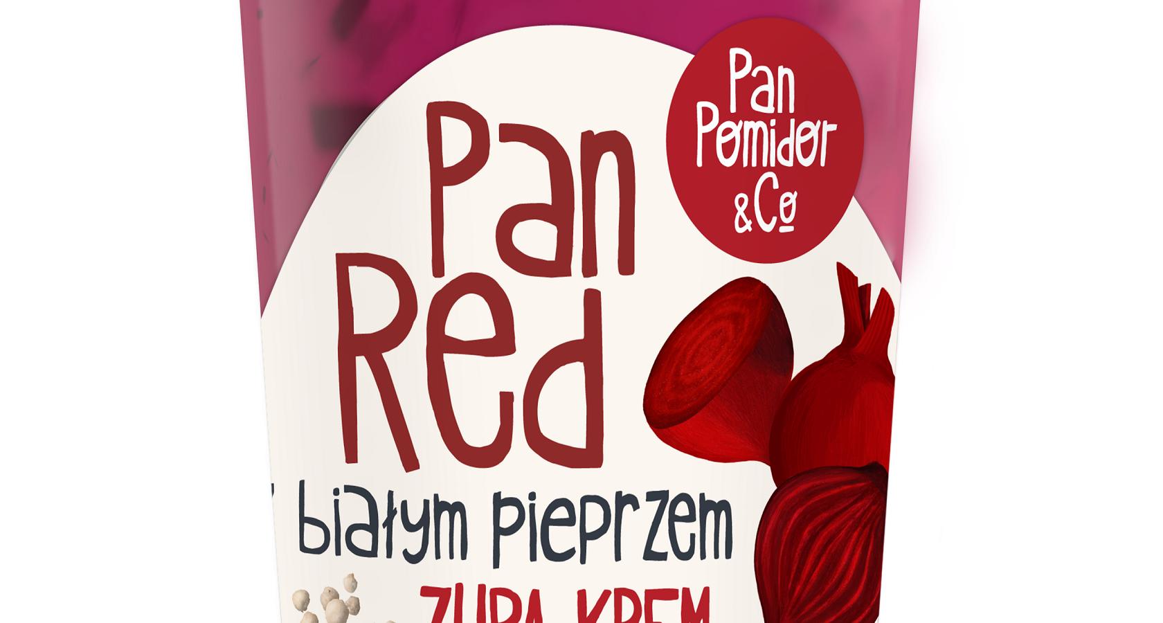 Pan Red – nowa wiosenna zupa krem marki Pan Pomidor&Co.