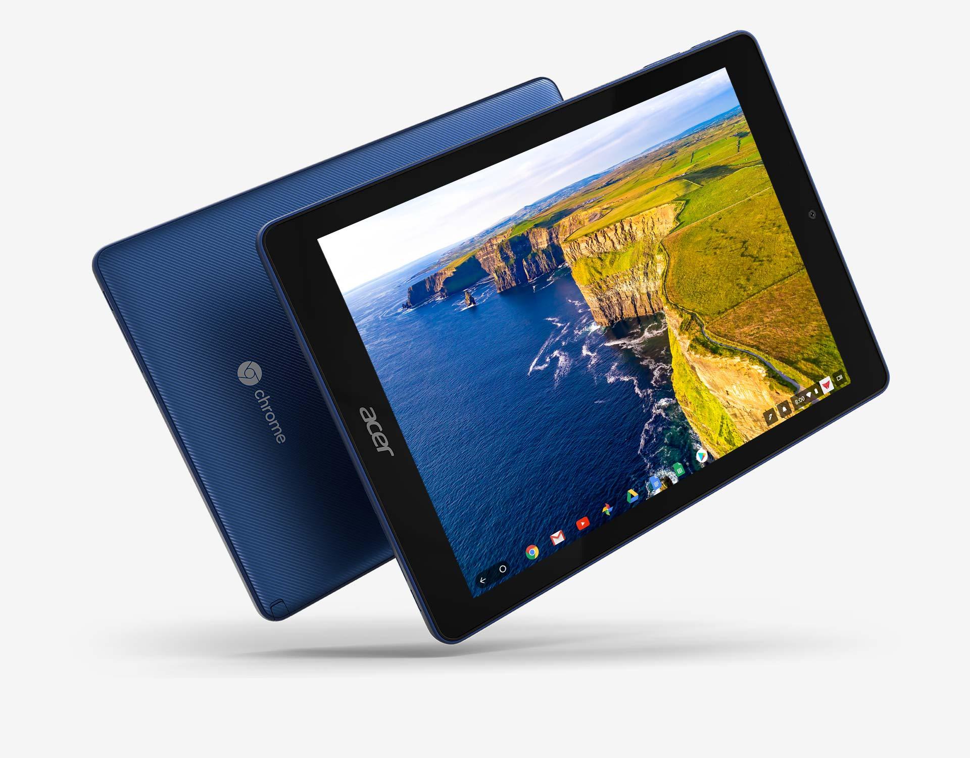 Acer Chromebook Tab 10 - pierwszy tablet z Chrome OS. Został stworzony specjalnie dla edukacji