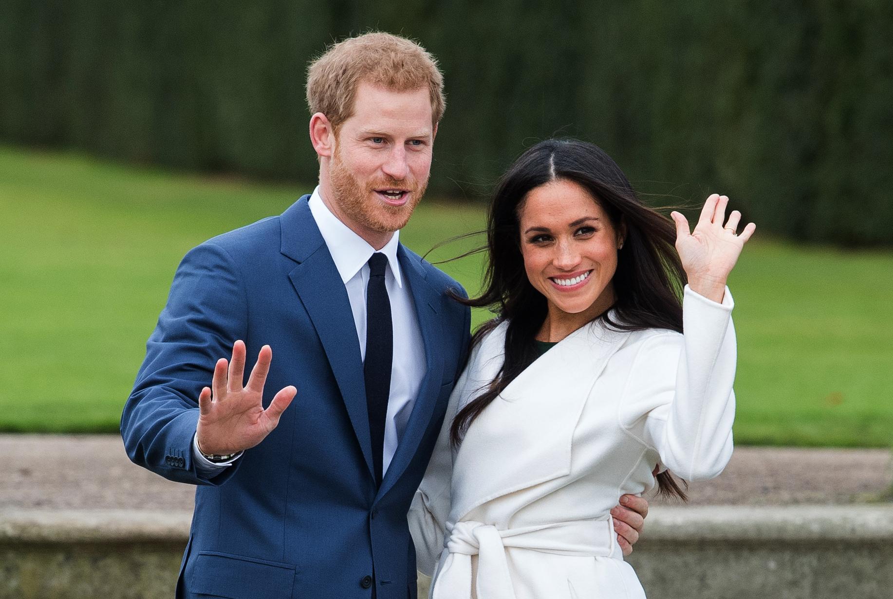 """W oczekiwaniu na największy ślub roku. """"Harry – książęce życie"""", """"Meghan Markle: hollywoodzka księżniczka"""" i """"Królewskie wesele"""" już wkrótce na kanale National Geographic"""